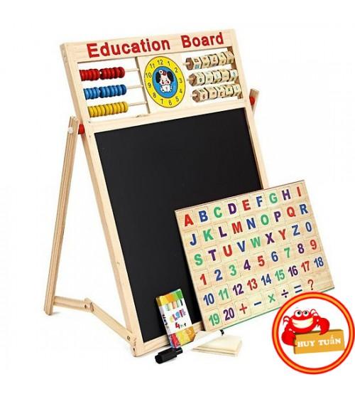 Bảng Từ 2 Mặt Education Board Và Bộ Chữ Số Cho Bé