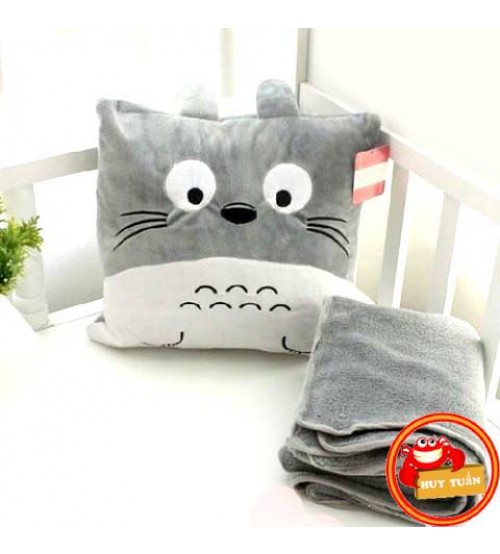 Chăn gối 3 trong 1 Totoro